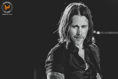 Myles Kennedy avec Alter Bridge au Rock in Roma