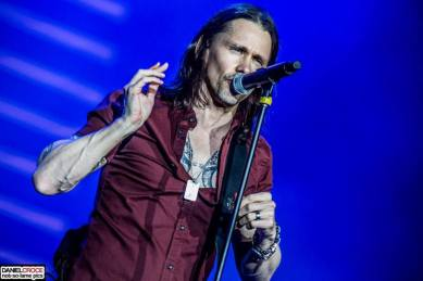 Alter Bridge au Rock in Rio. Myles Kennedy France