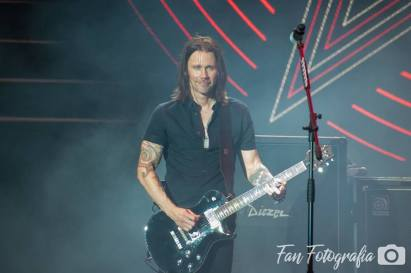 Alter Bridge à Sao Paulo. Myles Kennedy France