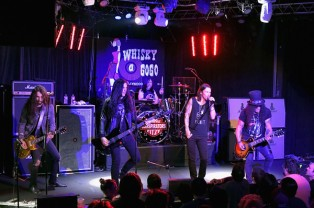 Slash feat. Myles Kennedy & The Conspirators à Los Angeles au Whisky a GoGo
