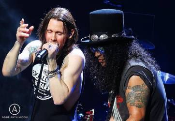Slash feat. Myles Kennedy & The Conspirators à l'Eventim Apollo de Londres
